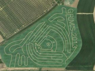 Grims Greenhouse Corn Maze 2013