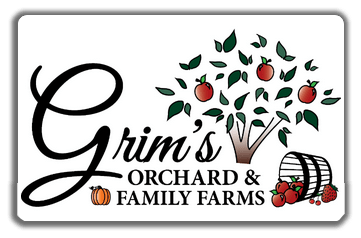 Grims Orchard is Cashless. Purchase your gift cards before you arrive.